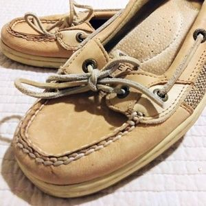 Sperry top sider angelfish size 9 Tan camel